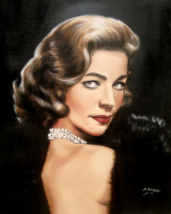 Lauren Bacall by wisewyn